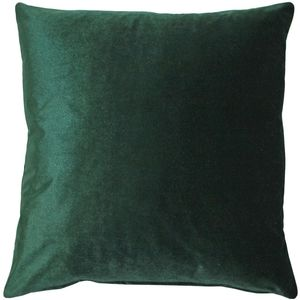 New Velvet Green Decorative Throw Pillow